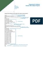 Cnc Program G-code