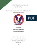 Laporan Strategi Perusahaan Bolt-Teknik Industri UPH 2013