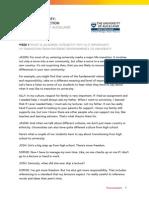 Transcript Academicintegrityvaluesskillsaction Step1 9 Transitionfromdifferentenvironmentstouniversity