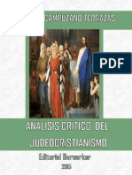 Análisis Crítico Del Judeocristianismo