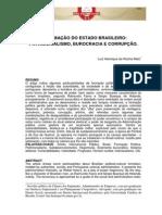 A Formação Do Estado Brasileiro