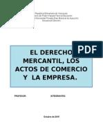 El Derecho Mercantil (1)