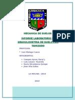 Informe Lab 2 Meca Suelos