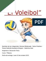 Trabajo de Educacion Fisica El Voleibol Aqui Esta El Trabajo!!!