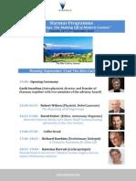 Starmus Programme - 9-07-2014 - English