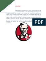 Estrategia de Kfc en Perú