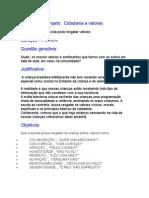 Projeto_Cidadania e Valores