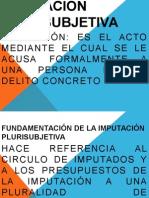 Imputación plurisubjetiva