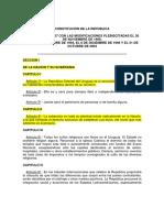 Uruguay -Reformas Hasta 2004