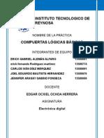 Reporte de Practica Electrónica Digital