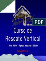 Presentacion Curso Rescate Vertical