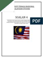 Konsep Negara Bangsa - Malaysian Studies