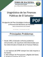 Diagnostico de Las Finanzas Publicas de El Salvador v4 (BCR-Dic-2012)
