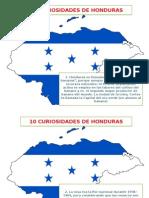 10 Curiosidades de Honduras