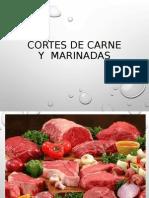 Marinadas y Cortes de Carne
