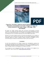 Resena Diccionario LIBRAS 2001