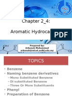 Ch2 Hydrocarbon Aromatic