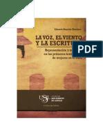 2013 Huaytán La Voz El Viento y La Escritura Representación y Memoria en Los Primeros Testimonios de Mujeres en El Perú