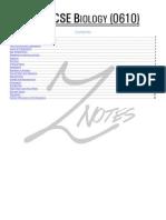 Biology Notessaddas