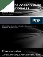 Medios de Cobro y Pago Internacionales 11023 -1