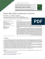 Nonlinear FEM Strategies for Modeling Pipe-soil Interaction