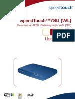 SpeedTouch 780WL UserGuide
