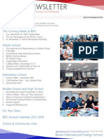 BIFS Newsletter, 2015-11-20 (English)