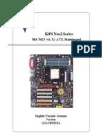 MSI K8N Neo2 Platinum