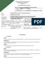 Actividades Para Diagnostico Historia II. Secundaria.