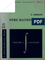 Pure Mathematics for Sixth Forms Vol.1