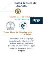 Patologia Biopsias