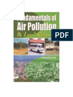 Fundamentals of Air Pollution