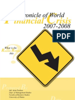 Chronicle of World Financial Crisis 2007-2008