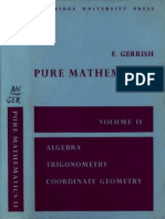Pure Mathematics (Sixth Form) Vol.2