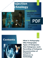 3d Holographic Projection Technology PPT