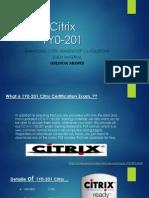 1Y0-201 VCE