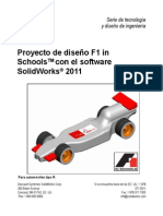 Diseño Auto de Carrera SOLIDWORKS