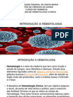 Introdução à Hematologia