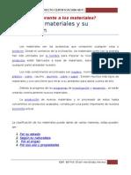 Historia de Materiales y Su Clasificación