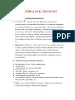Ofimática en El Siglo Xxi ..