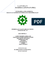 Laporan PKL AK3 Umum Kelompok 2