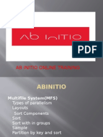 The Best  Abinitio Online Training at  It hub Online Training