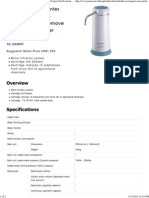 TK-38MRF - Water Purifier (Counter Top Type) (5 Layers Purifications and Remove 13 Substances) (Filter Soluble Lead)