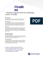 Letter of Credit Guarantee 1214