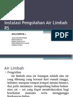 Instalasi Pengolahan Air Limbah RS