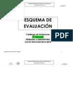 Catalogo Evidencias 14 - 15 3er Bimestre