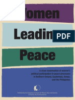 Women's Political Participation in Peace Processes