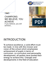 Slide of English for Champions