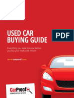 Carproof Used Car Buying Guide