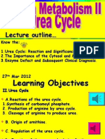 Protein Metabolism II_Urea Cycle_Med 2012March
